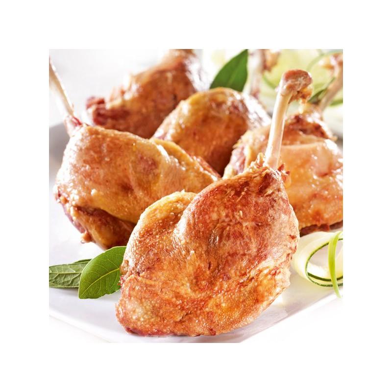 Cuisse de canard confite sachet 220 gr le gourmet de la chasse - Plat cuisine sous vide ...