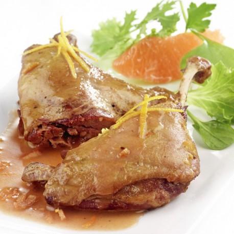 Cuisse de canette l 39 orange plat cusin sachet conserve souple - Plats cuisines sous vide ...