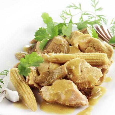 Curry vert de filet de volaille la noix de coco sachet 250 g le gourmet de la chasse - Plat cuisine sous vide ...