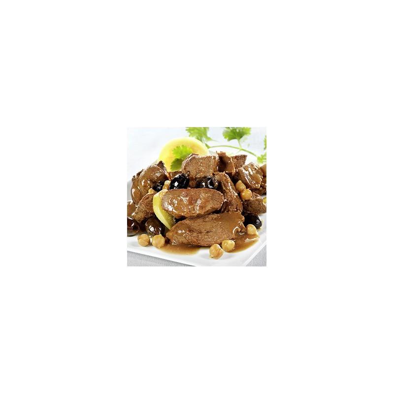 Tajine de canard aux olives et citrons confits sachet 250 gr le gourmet de la chasse - Plat cuisine sous vide ...
