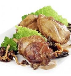 Poule à l'Angevine à la saveur truffe