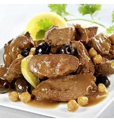 Tajine de canard aux olives et citrons confits