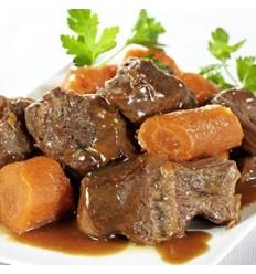Boeuf carottes, sachet de 400gr