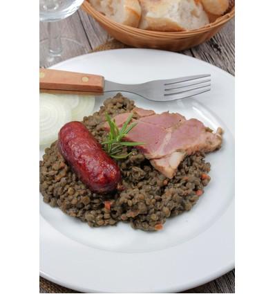 Lentilles saucisses de Canard Le Gourmet 350gr