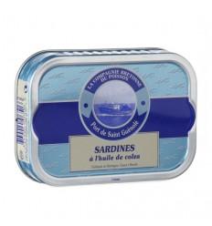 Sardines entières à l'huile de colza