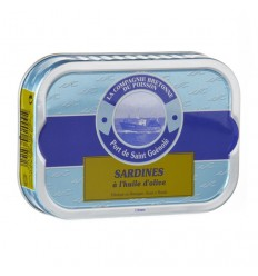 Sardines entières à l'huile d'olive
